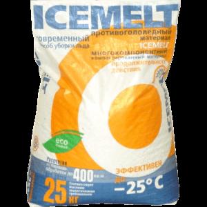 Противогололедный реагент Айсмелт (Icemelt)