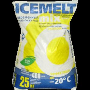 Противогололедный реагент Айсмелт (Icemelt) Mix